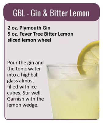 Gin & Bitter Lemon cocktail recipe