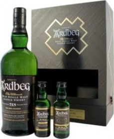 Ardbeg 10 Year Old Exploration Discovery Set with 2 Free 50ml Bottles NOW $44.99