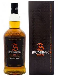Springbank 10 Year Old Whisky